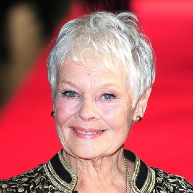 Mid Devon Star: Dame Judi Dench is among the British stars hoping to win an Oscar on Sunday.