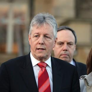 First Minister Peter Robinson had threatened to resign over the controversy about on-the-run republicans