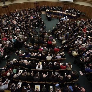 The General Synod failed to approve women bishops in November 2012 when a two-thirds majority could not be achieved