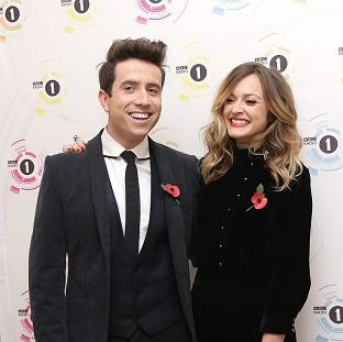 Mid Devon Star: Fearne Cotton had to step in for Nick Grimshaw when he had to go to hospital during his broadcasting slot.