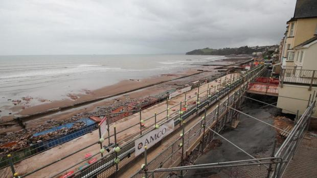 Want to see how Dawlish rail line is being rebuilt? Watch this time lapse video
