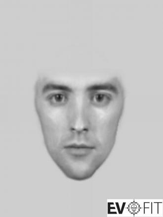 E-fit image released after man punched teenage girl in Paignton