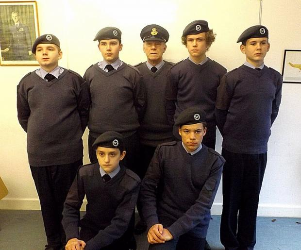Mid Devon Star: Crediton Cadets kitted out for action