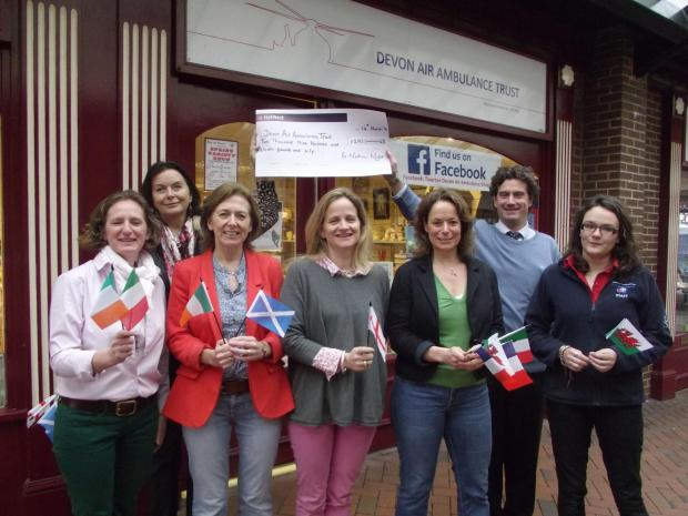 Rugby talk raises Air Ambulance funds