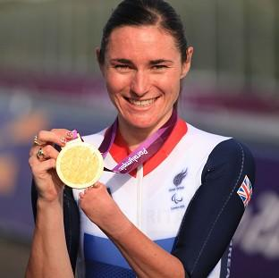 Mid Devon Star: Paralympic champion Dame Sarah Storey has been named Celebrity Mum of the Year