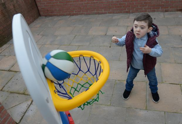 Slam dunk! Basketball just one sport at new Littleham games area