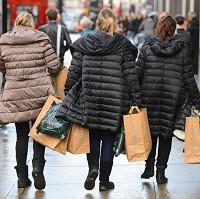 Mid Devon Star: High street sales rose 1.7% in February as better weather tempted shoppers out