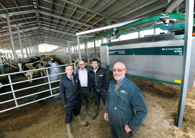 Big 'moo've' for Tiverton farmer