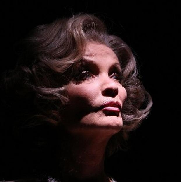 Mid Devon Star: Former soap star Kate O'Mara, pictured here as Marlene Dietrich, has died aged 74