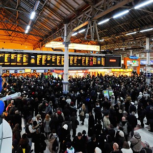 Network Rail has admitted that not enough trains are running on time