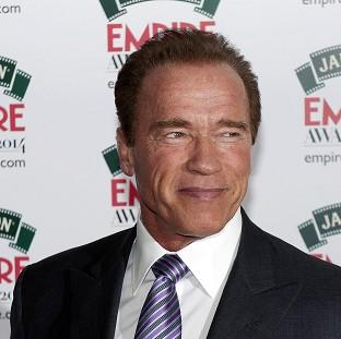 Mid Devon Star: Arnold Schwarzenegger attending the Empire Magazine Film Awards held at the Grosvenor Hotel in London.