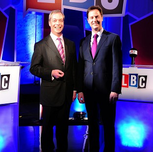 Farage 'wins' second EU debate