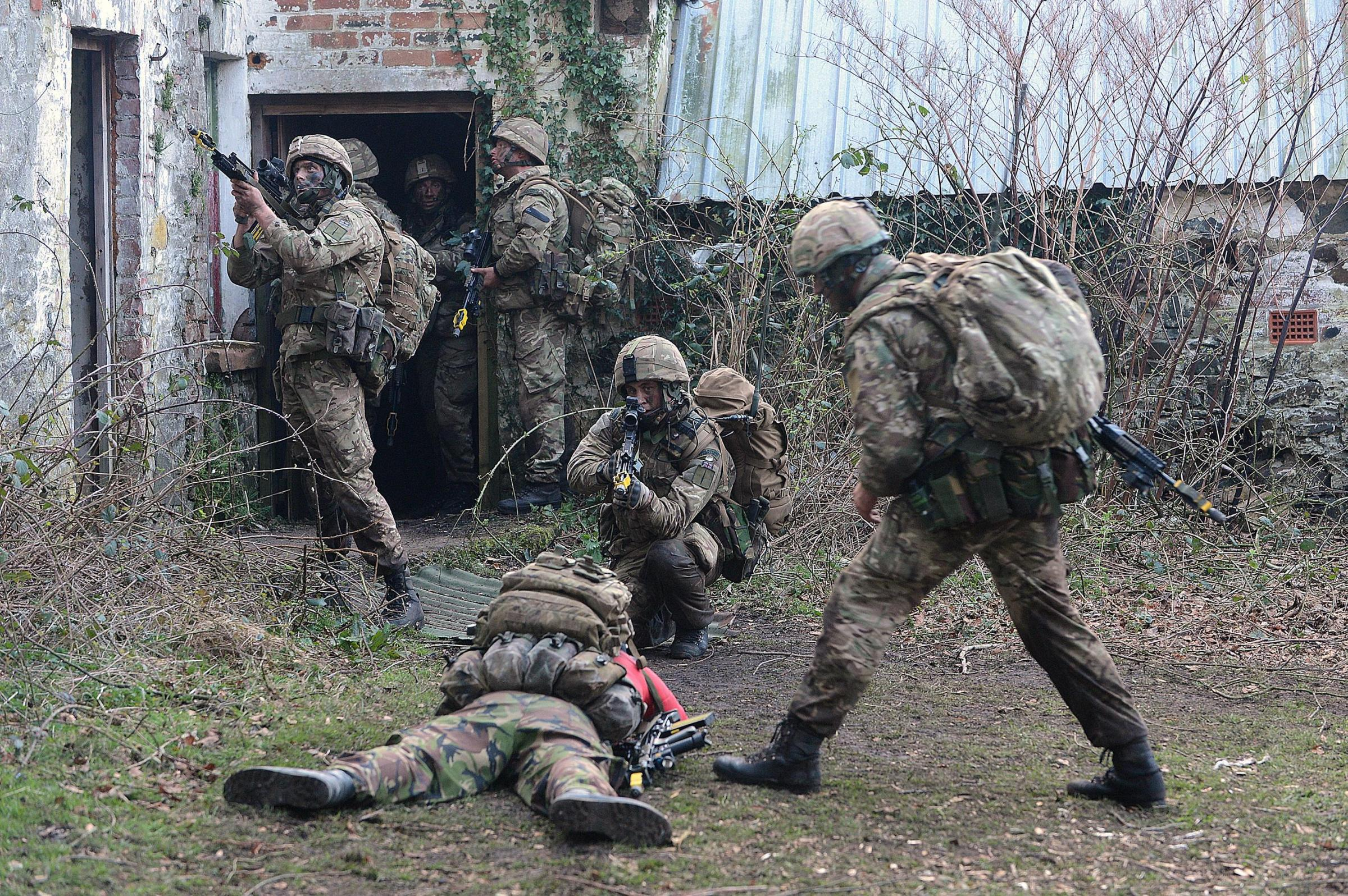 South West Royal Marines begin year's largest Naval exercise