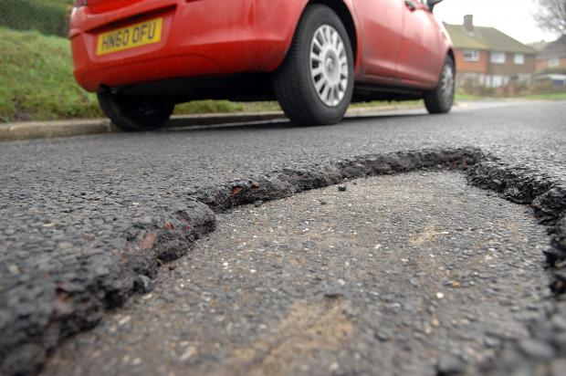 £7million to help with Devon's pot hole misery