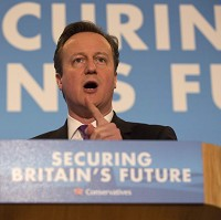 Cameron in tax cut pledge to voters