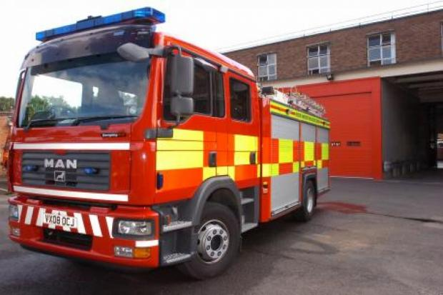 Fire crews called to Blaze at Tiverton pub