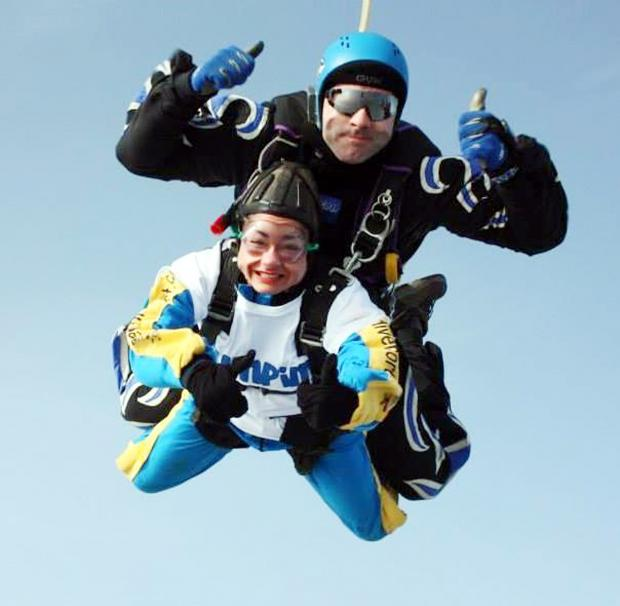 Nikkie to take Ape Action with charity skydive