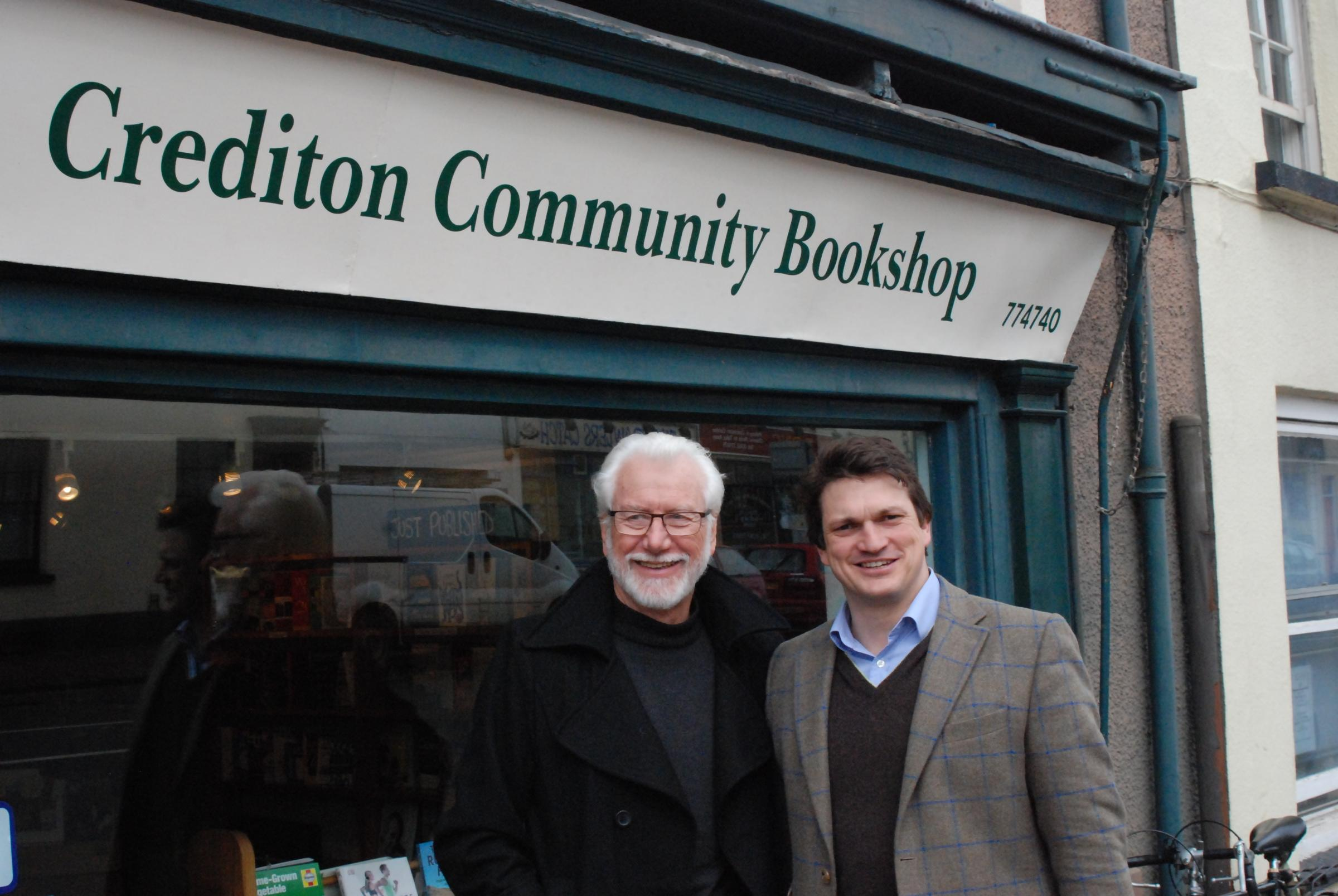 Bookshop helping keep high street