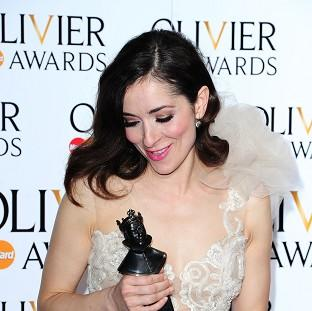 Mid Devon Star: Zrinka Cvitesic wins the Olivier Award for Best Actress In A Musical for Once, at the Royal Opera House in Covent Garden
