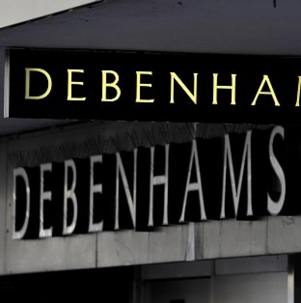 Mid Devon Star: Debenhams' profits fell 24.5% to �85.2m in the six months to March 1