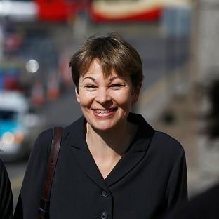 Green MP Caroline Lucas arrives at Brighton Magistrate