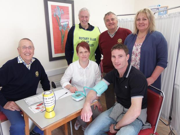 Mid Devon Star: Blood Pressure Check Day proved to be wonderful Success