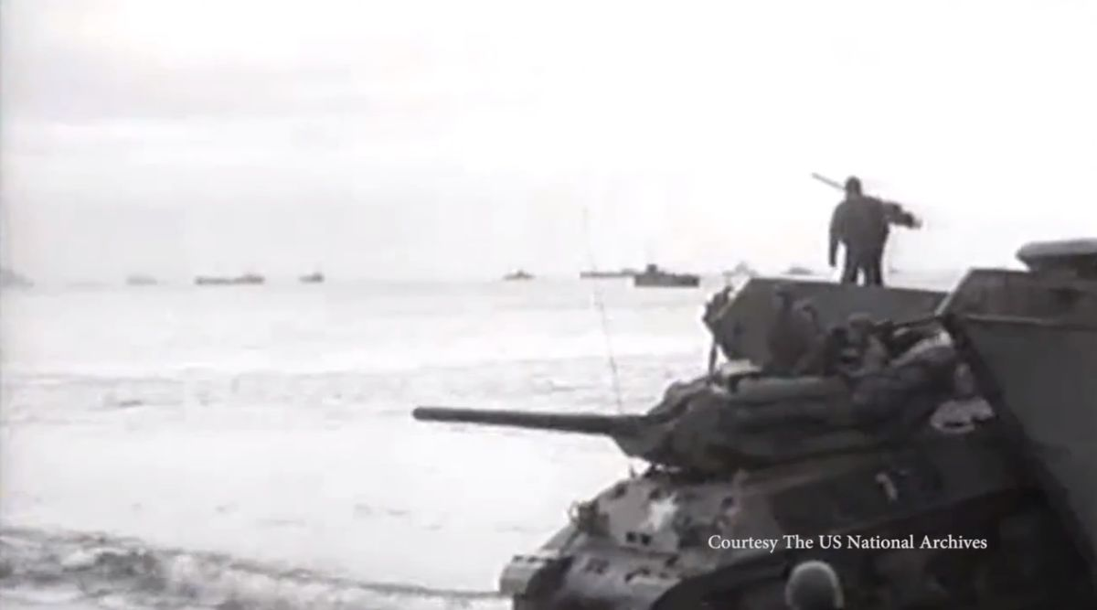 Marine robots explore site of sunken D-Day 'landing ship' tanks off South Devon: VIDEO