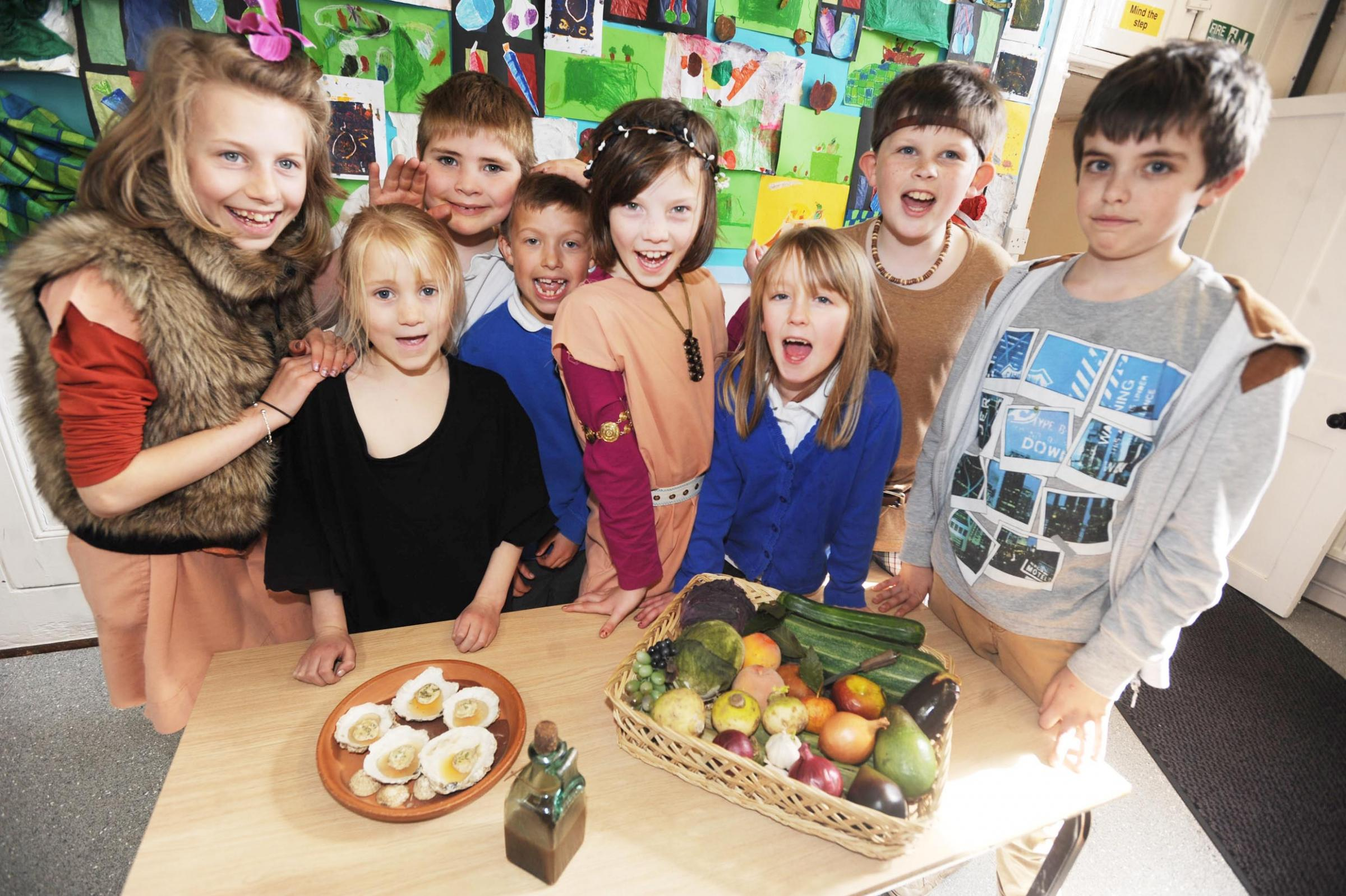 History brought to life at Halberton Primary School