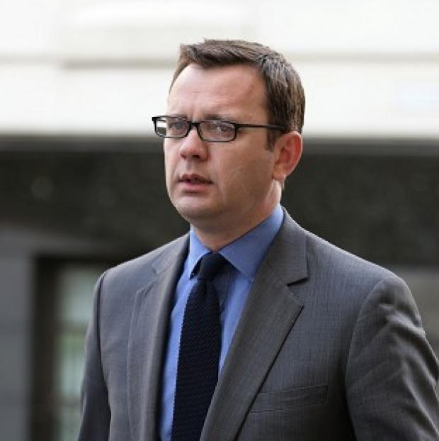 Mid Devon Star: Andy Coulson arrives at the Old Bailey.