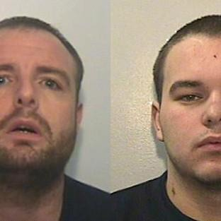 Stevie McMullen, 31 (left) and Ryan MacDonald, 20, (right).