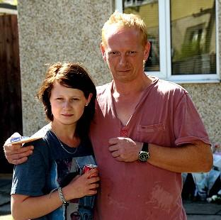 Mid Devon Star: Hannah Smith's dad David Smith and sister Jo at their home in Lutterworth, Leicestershire