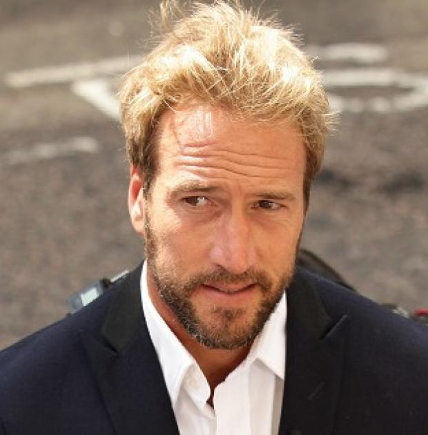 Mid Devon Star: Ben Fogle has told how he fought off a mugger
