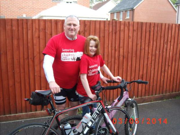 Beth takes on cycling challenge after beating cancer