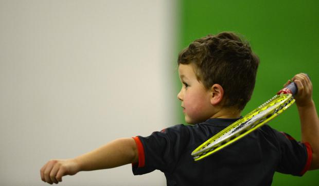 Tennis Centre celebrates Great British Tennis Weekend.
