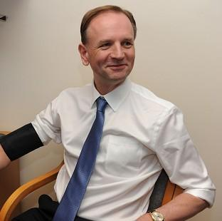 The new NHS England chief executive Simon Stevens, who has told colleagues to