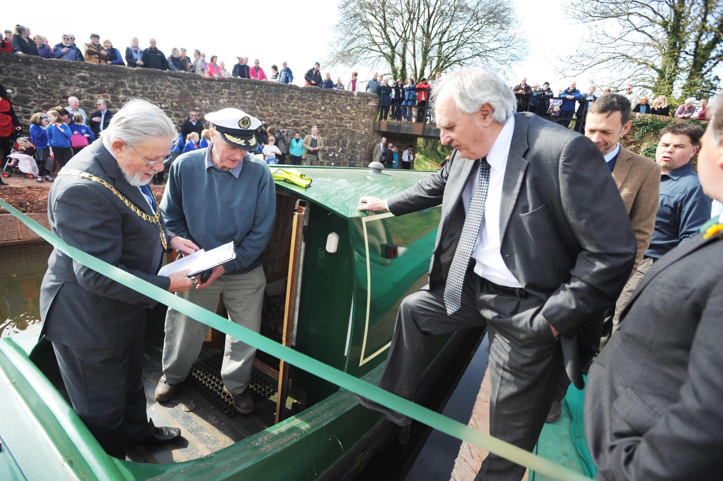 Trailboat festival to mark Grand Western Canal's bicentenary