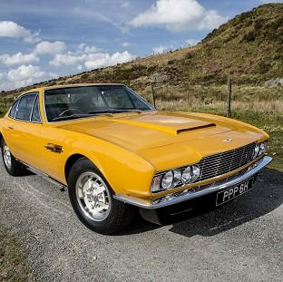 The famed 1970 Aston Martin DBS which star