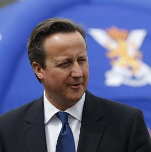 Prime Minister David Cameron says he will not resign if Scotland votes for independence.