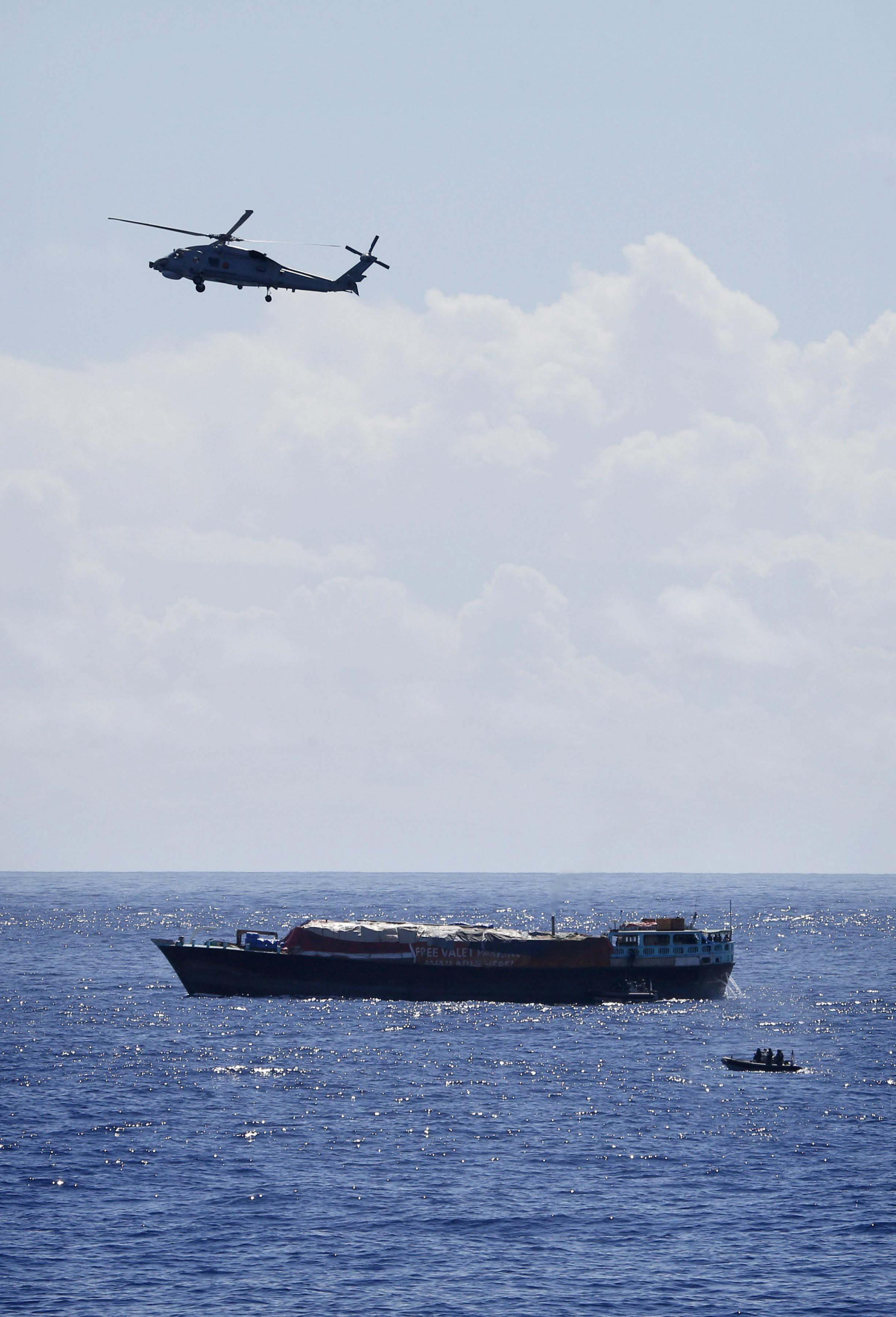 Royal and Royal Australian Navies strike £60m blow to terrorist drugs trade