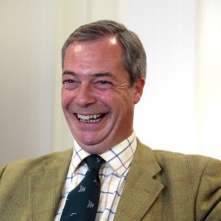 UKIP leader Nigel Farage denied being too frightened to attend a party rally