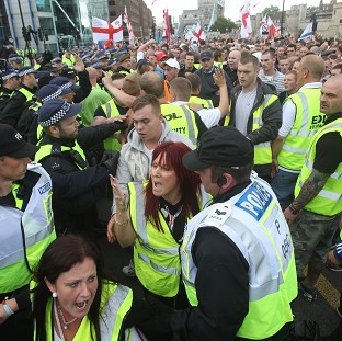 A chief constable has urged a crackdown on rallies by far-right groups such as the English Defence League because they are too costly to police