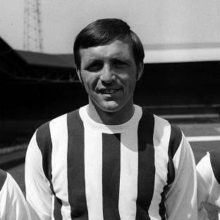 Former England and West Brom striker Jeff Astle