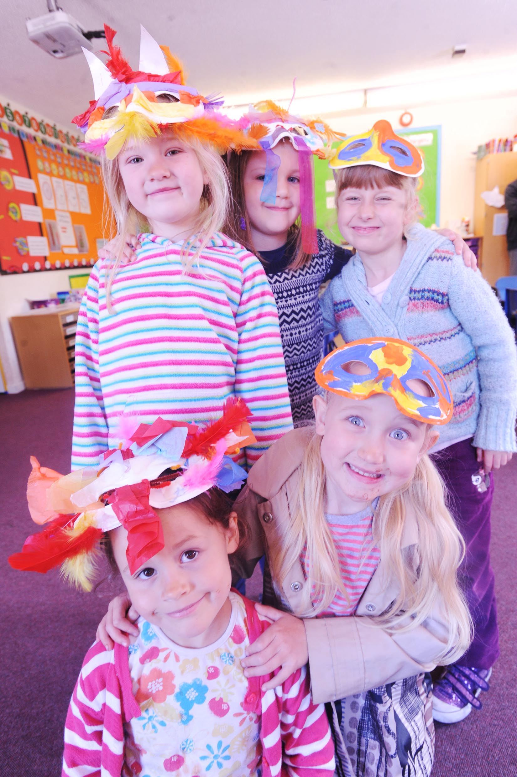 'Art Attack' at Tidcombe Primary School