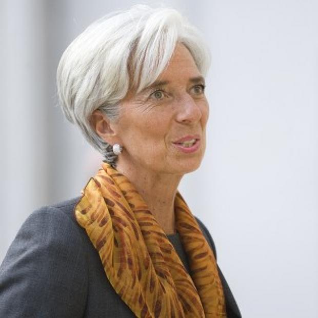 Mid Devon Star: Christine Lagarde has said she is 'not a candidate' in the race to be president of the European Commission