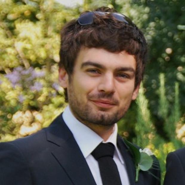 Mid Devon Star: Gareth Huntley disappeared on May 27 when he went on a trek to a waterfall