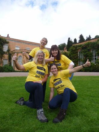 Walk Ten at Killerton House, Devon for Marie Curie