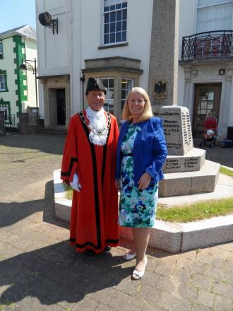New mayor 'honoured' to take on role