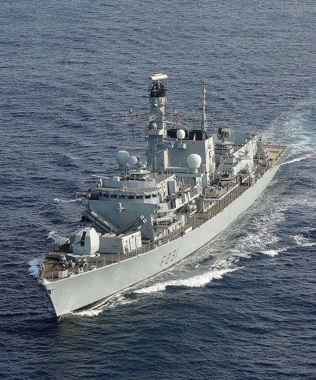 Mid Devon Star: HMS Montrose back in port of Montrose for first time since 2008 and open to visitors