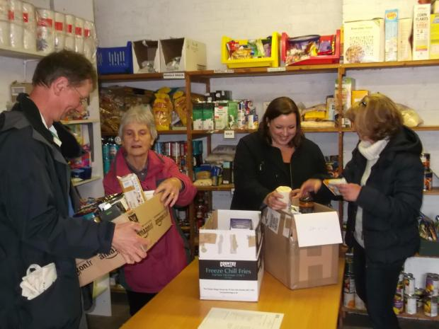 Sanctuary Housing supports expansion of food bank charity