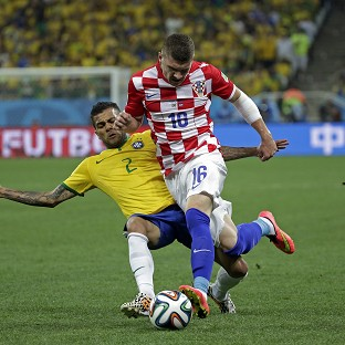 ITV's online coverage of the World Cup's opening match sparked anger on Twitter (AP)